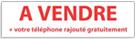 Banderoles 0.80m x 3.00m - A VENDRE